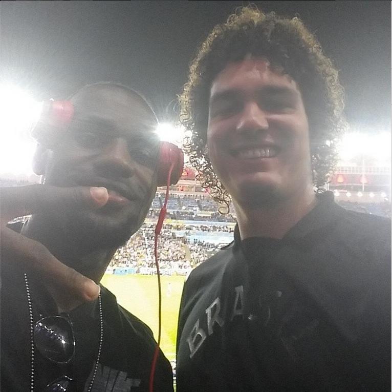 Photo from Anderson Varejao's Instagram