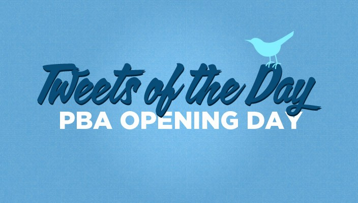 Tweets of the Day PBA OPENING