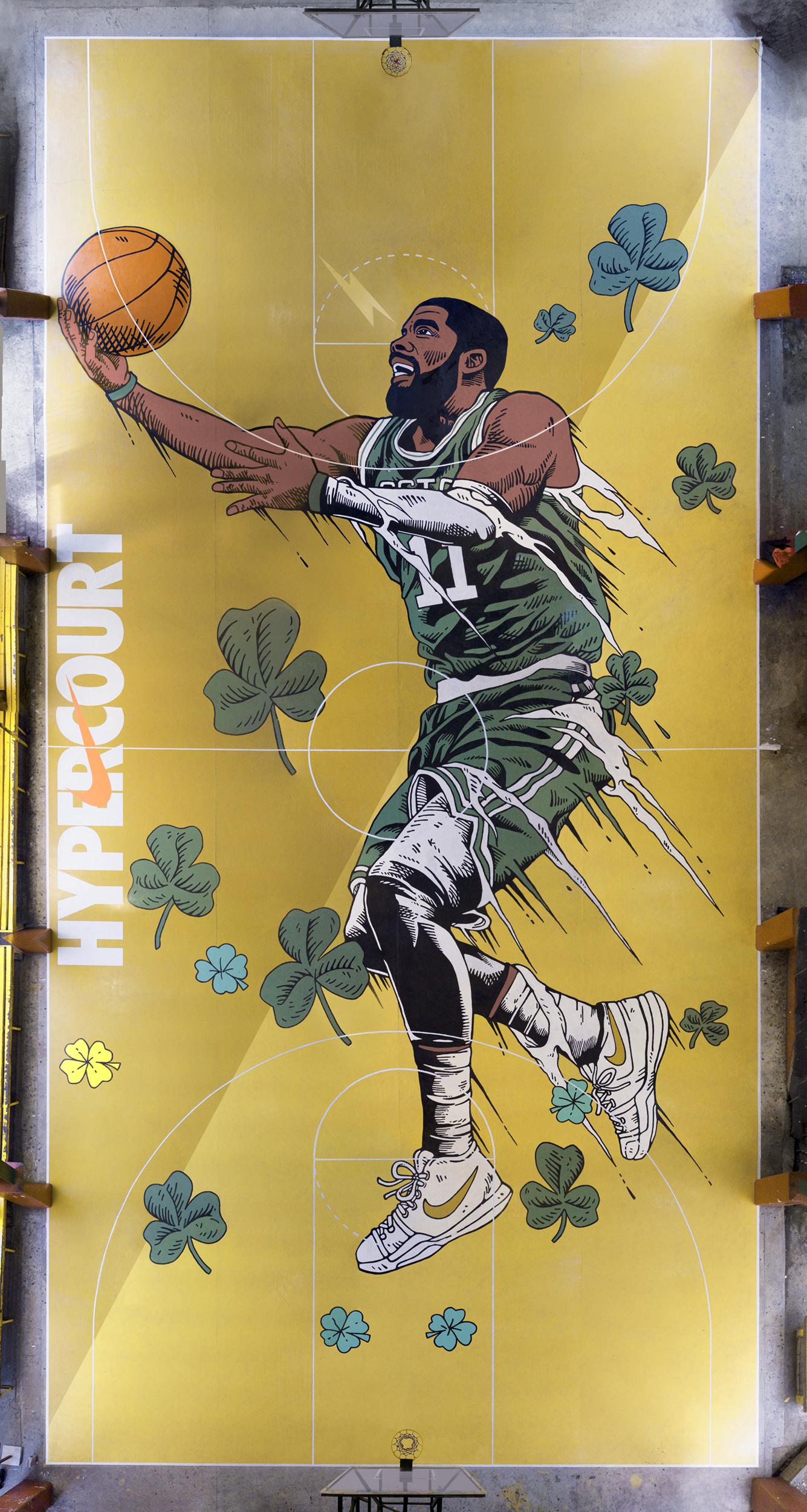 David Lee Basketball >> Nike Hyper Court: Mixing Art and Basketball in Manila - BuhayBasket