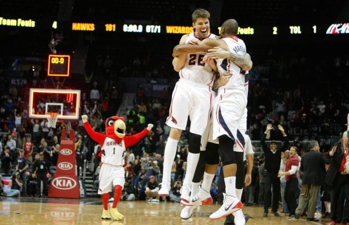 NBA: Washington Wizards at Atlanta Hawks