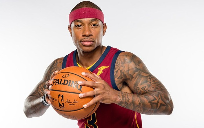 INDEPENDENCE, OH - SEPTEMBER 25: Isaiah Thomas #3 of the Cleveland Cavaliers poses during media day at Cleveland Clinic Courts on September 25, 2017 in Independence, Ohio. NOTE TO USER: User expressly acknowledges and agrees that, by downloading and/or using this photograph, user is consenting to the terms and conditions of the Getty Images License Agreement. (Photo by Jason Miller/Getty Images)